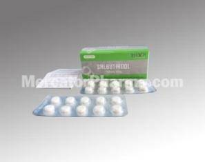 Salbutamol Tablets 4mg