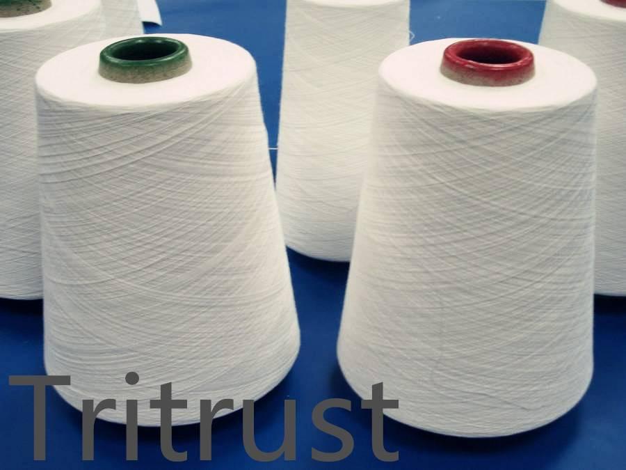100% spun polyester yarn china factory best price