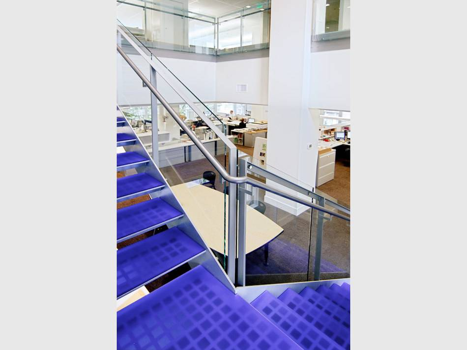 high impact-resistant panel for stair tread