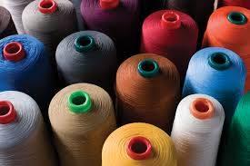 100% polyester ring spun yarn_factory