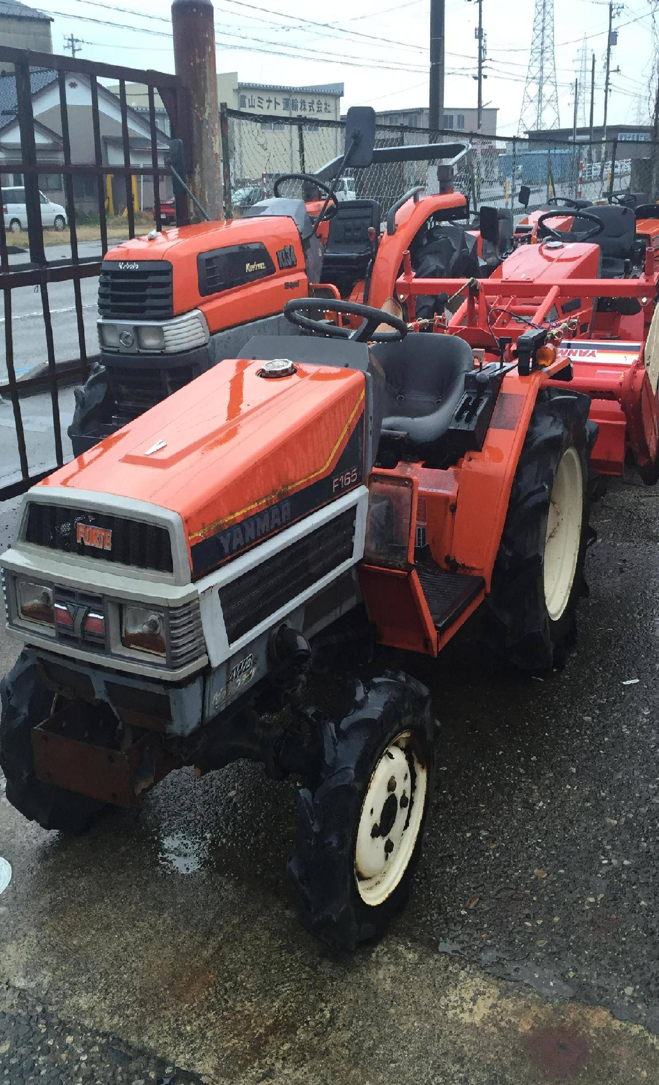 Used tractor Yanmar FX165 unit 1