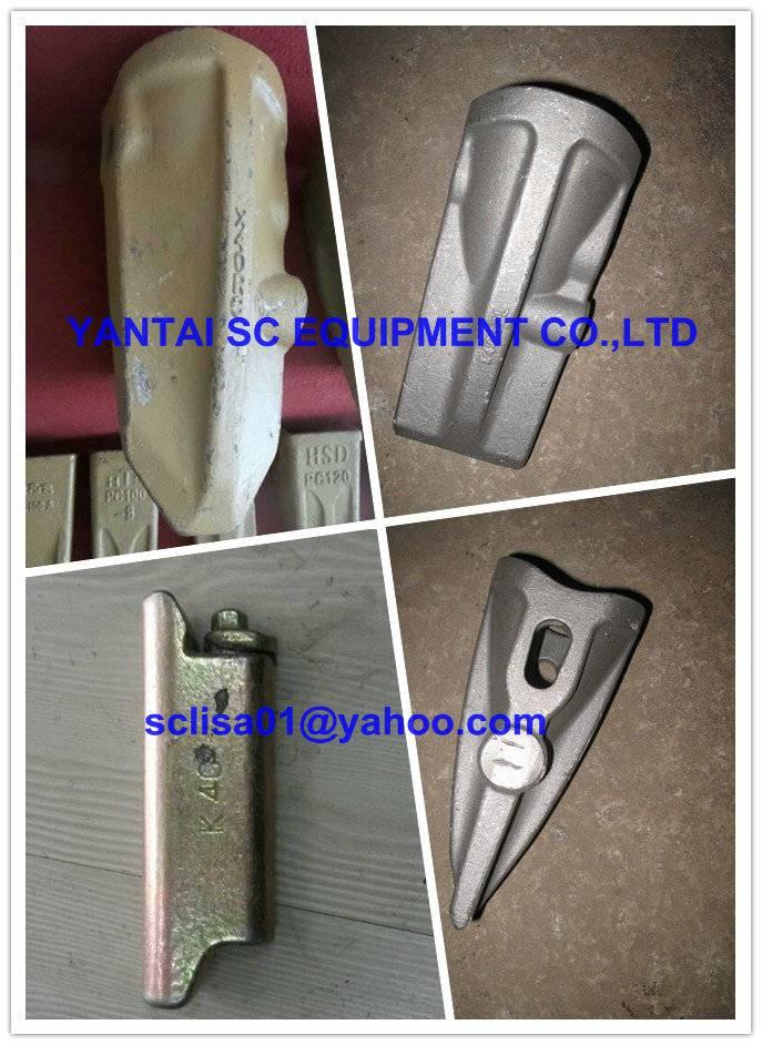 Hensley Bucket Teeth K40syl and Pin