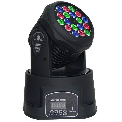 18 x 3W LED Moving Head for wash