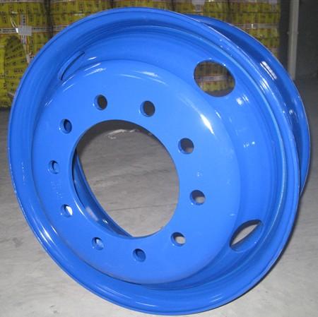 truck steel wheel rim/tubeless steel wheel