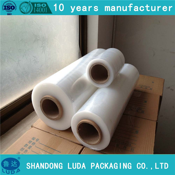 100% LLDPE Raw Material shrink wrapping film