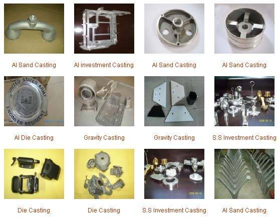 Sell die and investment casting
