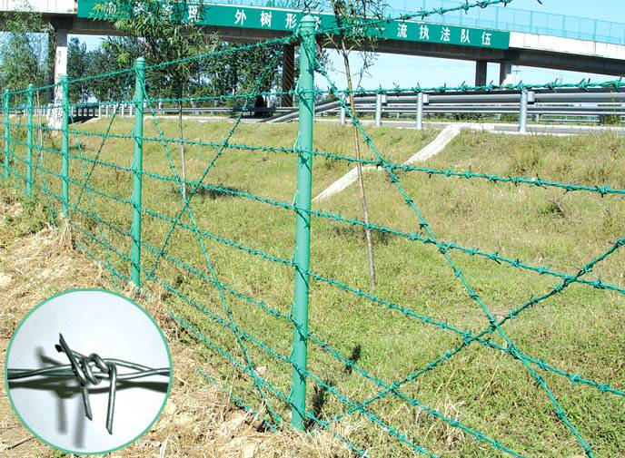 Anping Supplier High Quality Barbed Wire Fence