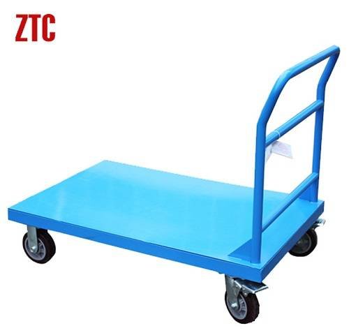 Material handing steel platform utility hand trolley RCA-012