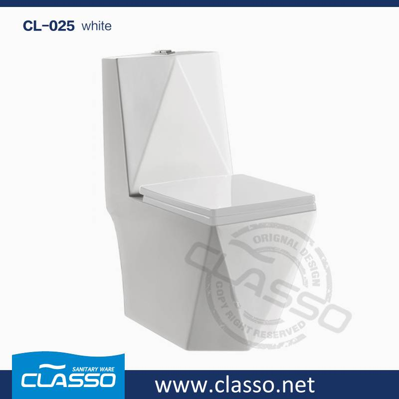 Hot sale washdown toilet new design 4-inch one piece closet TURKISH BRAND CLASSO CL-025