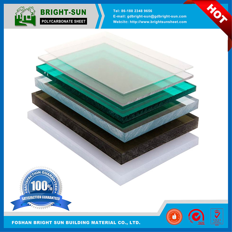 high quality 100% Virgin PC Resin Lexan solid polycarbonate sheet