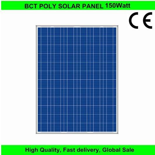 Polycrystalline Silicon pv Solar panel 150W