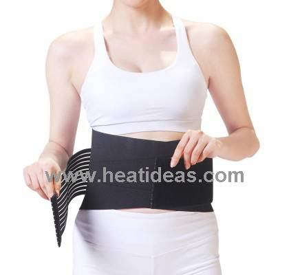 Battery Powered far infrared heated waist belt