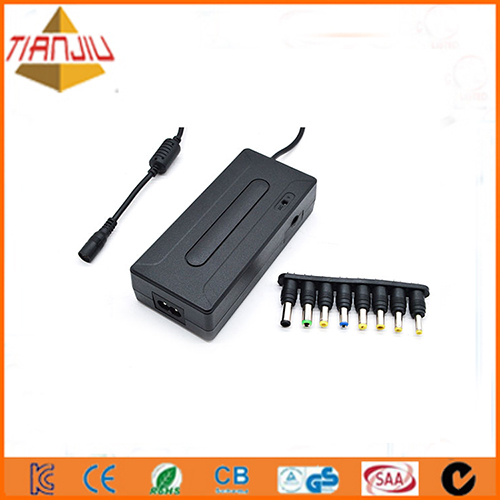 90w universal notebook charger with Double USB port 5V 1A with Double USB