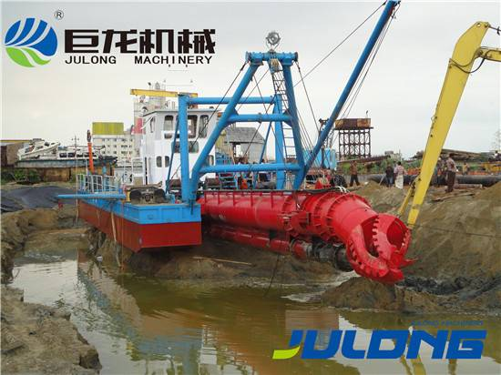 12 inch all hydraulic control sand cutter suction dredger