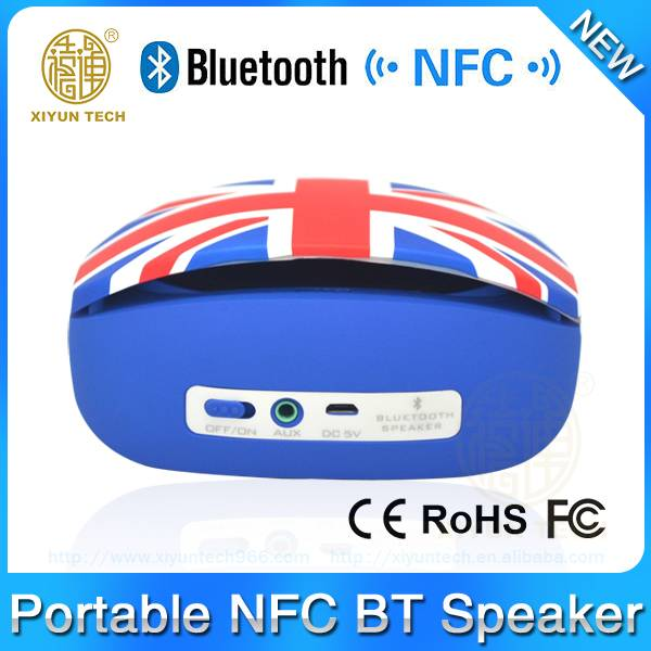 arrival uk flag powerful waterproof bluetooth speaker
