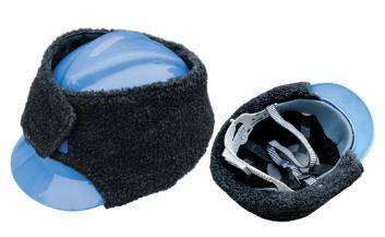 ABS industry safety helmet with keep-warm