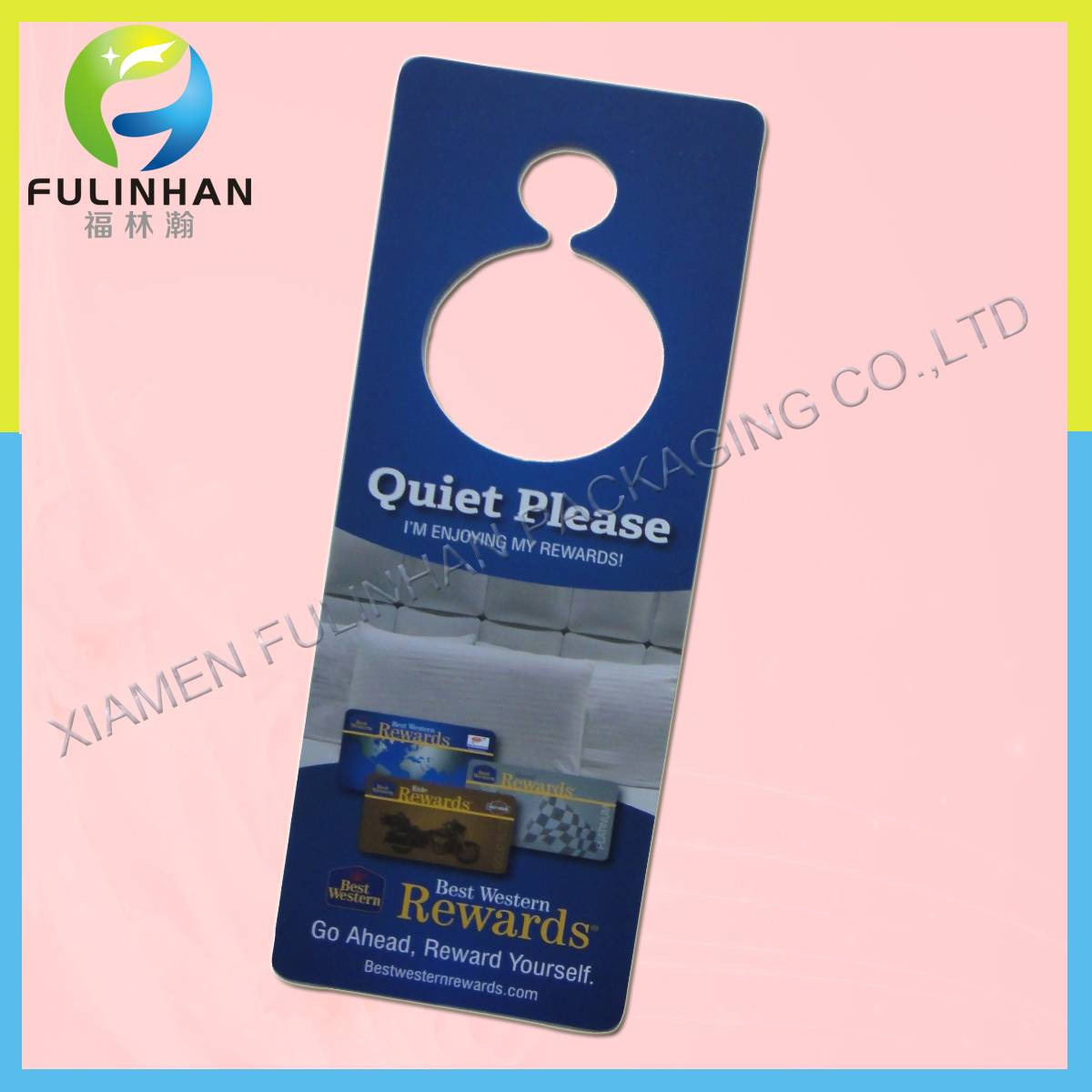 custom business door hangers printing