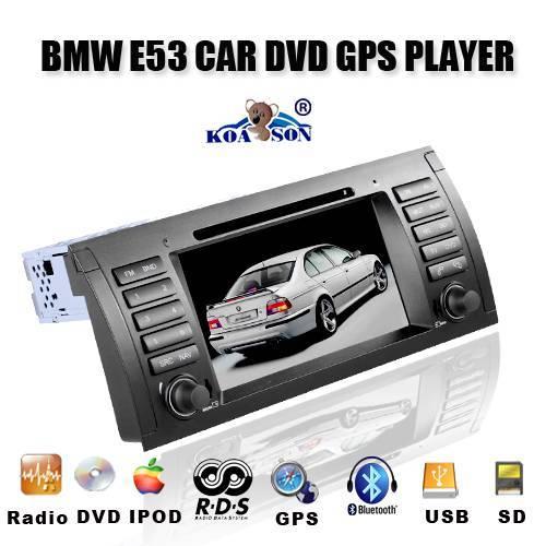 Car DVD GPS Player for BMW E53,E38,M5