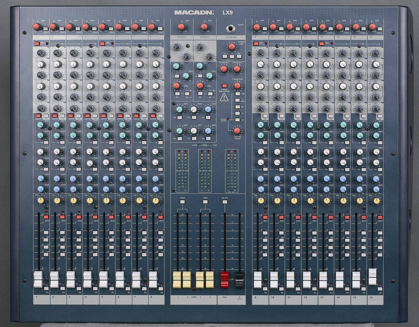 16/24/32 Channel audio mixer LX9-16