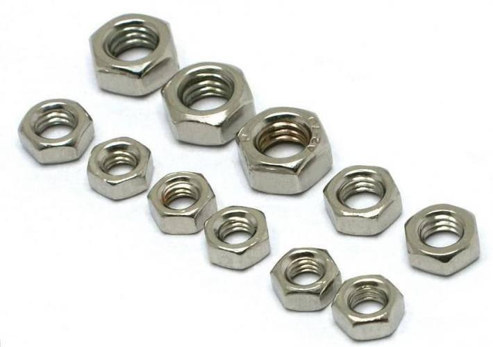 Nuts (DIN934, DIN6923, DIN582, DIN985, square nut, spring nut, revit nut, cap nut, long nut, etc)