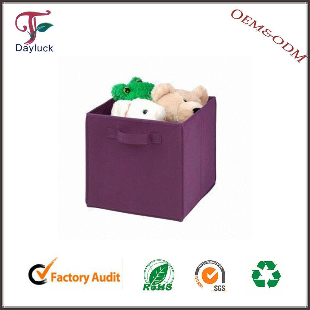 Purple color components storage box cardboard home storage box