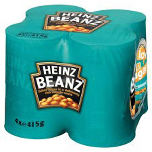Heinz Baked Beans 415g , Tomato Ketchup