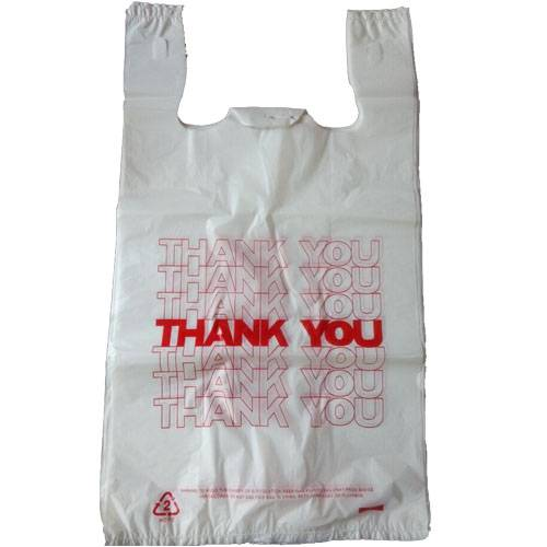 HDPE bags used for supermarket or grocery