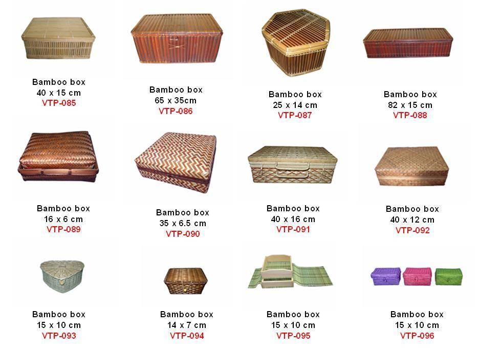 vietnam bamboo rattan box, cheap bamboo box, nice rattan box, bamboo box high quality