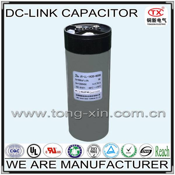 2014 Best Seller withstand high voltage and Low inductance DC-LINK Capacitor