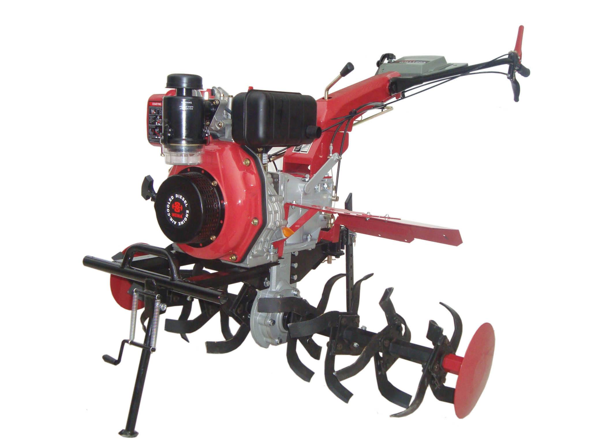 Gasoline Tiller with 178F/178FE diesel engine with high quality