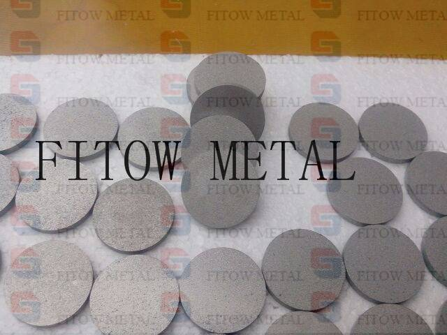 Titanium Powder Sintered Porous Metal Filters