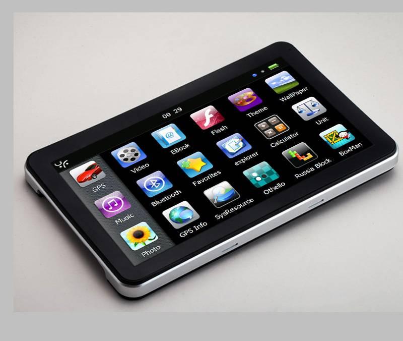 7inch gps navigation bluetooth av-in digital tv optional