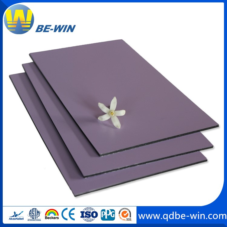 Building materials Aluminum Composite Panel high impact strength virgin 100% strong wheatherability
