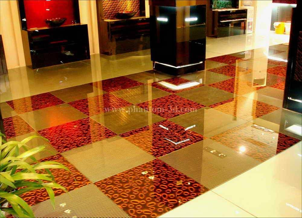 Phantom 3D glass tile, floor tile