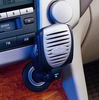 Car Plug-in ionizer W/ Charcoal Filter