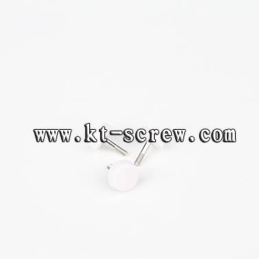 Thumb screw of custom knurled head screw