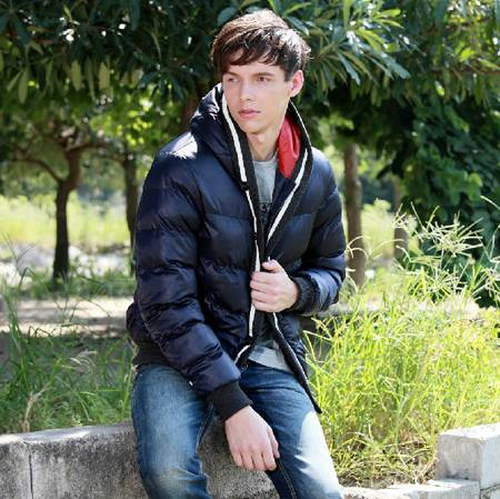 Fashion Men's padded jacket