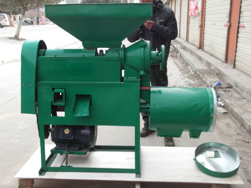 Corn Processing Corn Grit Machine