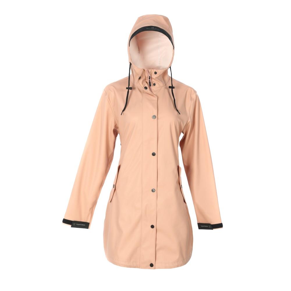 Ladies Long PU Raincoat-KBW1028