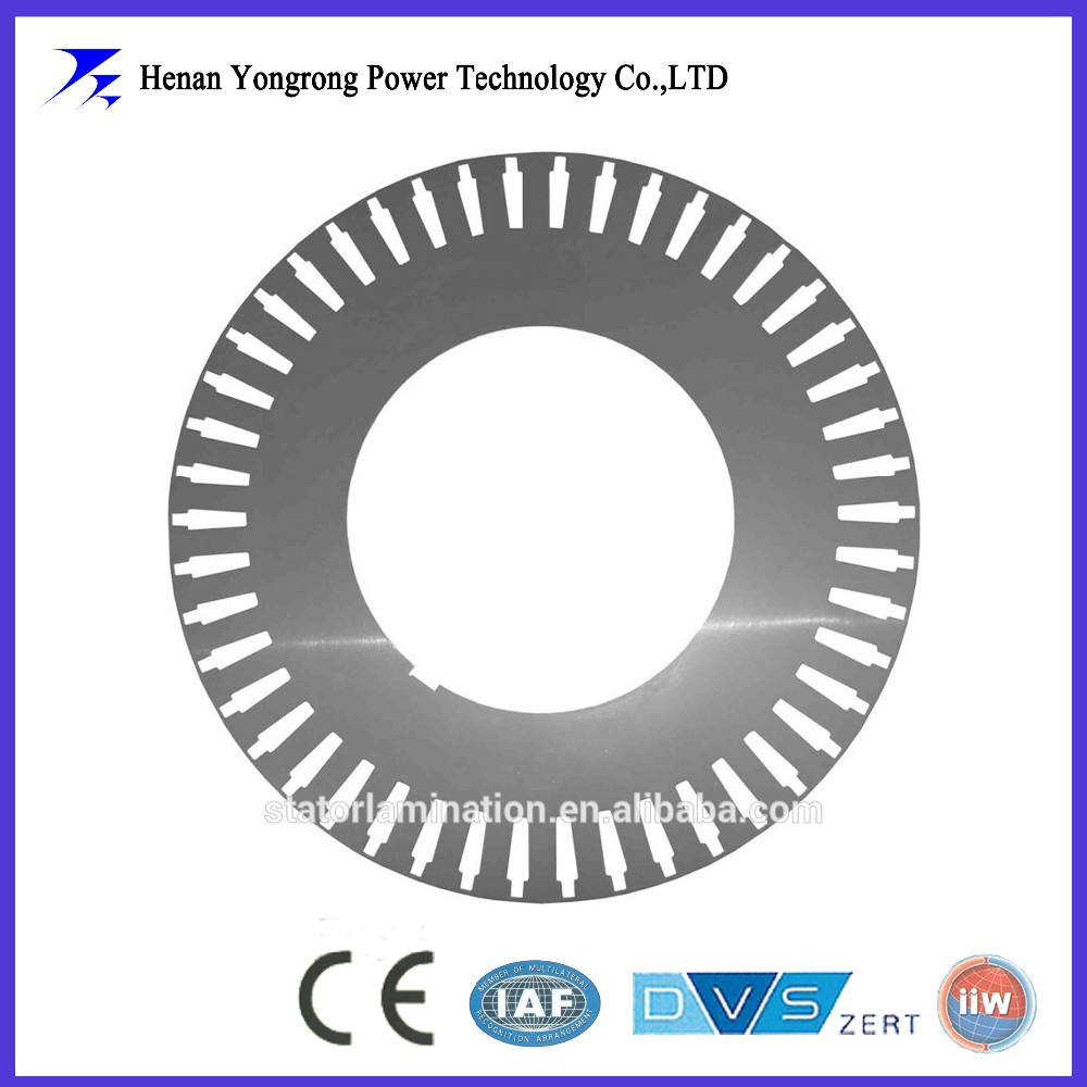DC/AC electrical motor stator and rotor silicon steel lamination