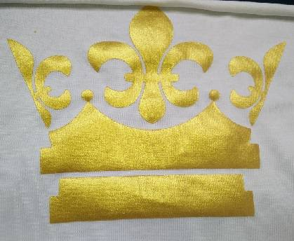 Imitate gold/sliver paste