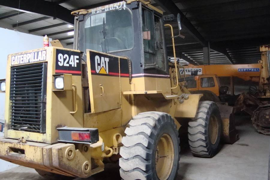 used cat wheel loader 924F