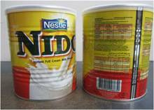 Instant Full Cream Nestle Nido Milk Powder.. RED CAP Nido Milk AVAILABLE