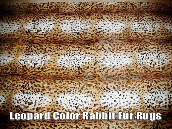 Spanish Rabbit Fur Throws and Rugs