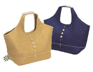 Handy bag, felt hand bag, lady's handbag