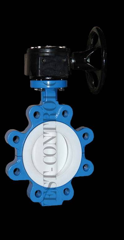 rubber-lined butterfly valve