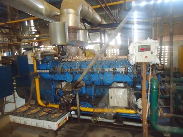 Wartsila 1250KVA Gas Generator Like new