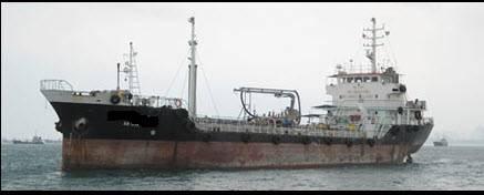Oil tanker 1,728 Dwt 1986 Ref C4126