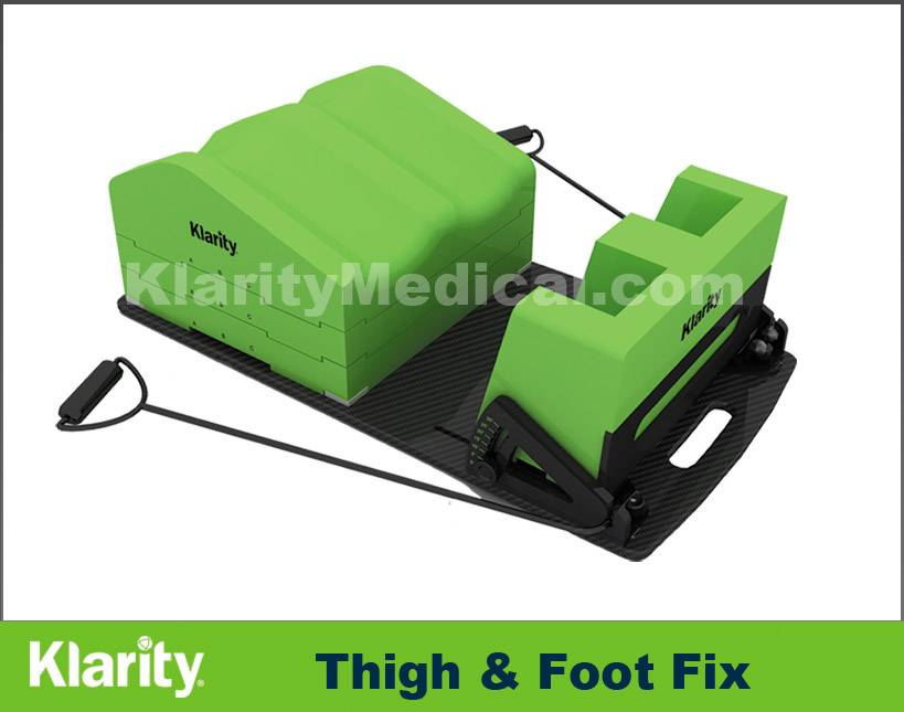 Klarity Thigh & Foot Fix Radiotherapy Immobilization Device