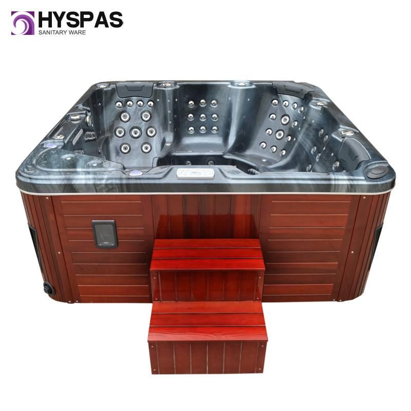 CE Certificated European Whirlpool Massage SPA Hot Tub, Bathtub (HY-6515B)